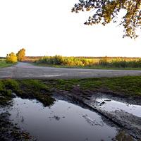 Пейзаж в окрестности села Поляна
