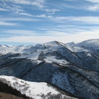 Вид с горы Чапал