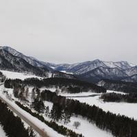 Трасса М52 и р.Катунь с воздуха.