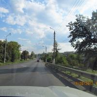 Плавск, дорога Москва -Крым
