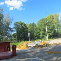 Под Ясенками, строительство АЗС