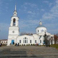 Верхотурье. Спасо-Преображенская церковь