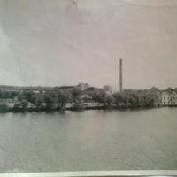1949, вид на речку Ров