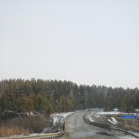 Новый мост через р.Карпысак.