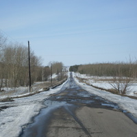 Дорога в Малый Кисляй