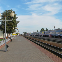 Станция Бобруйск, первая платформа