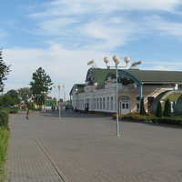 Вокзал, вид со стороны города