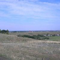 Вид на село на выезде от корабельного кордона