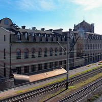 Жд вокзал Дебальцево
