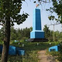 Мемориал памяти  погибшим жителям села  в годы гражданской и Великой Отечественной войнах