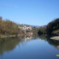 Устье горной реки