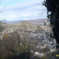 Вид из крепости Баграт