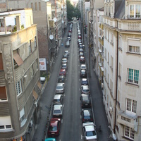 Белград. Вид из окна гостиницы.