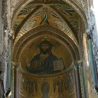 Христос Пантократор в соборе Чефалу