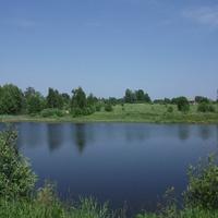 С. Милеево. Центральный пруд.