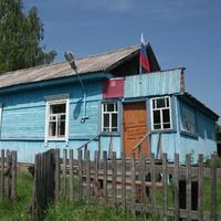 С. Милеево. Здание сельской администрации.