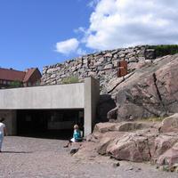 Хельсинки. Церковь в скале.