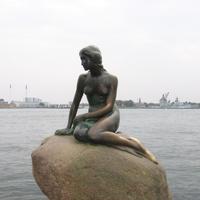Копенгаген. Русалочка.