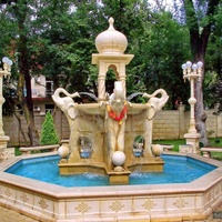 """Индийский фонтан в """"Старом парке"""""""