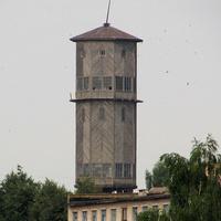 Деревянная водонапорная башня