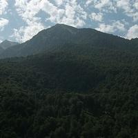 Западные отроги хребта Аибга