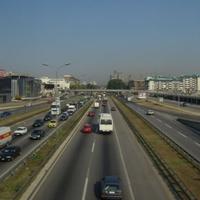 Белград. Трасса.