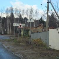Остановка при въезде в деревню