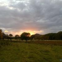 Disse ulike solnedganger ...