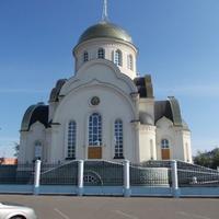 Посёлок Ростоши. Храм Сергия Радонежского.