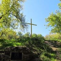Крест у святых источниках