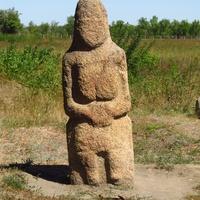 Каменная статуя