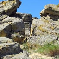 Нагромаждение камней