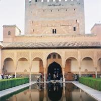 Гранада. Альгамбра, дворец Комариса.