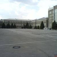 Новочеркасское военное училище связи. Плац