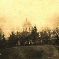 Ретро.Бужок , фотографія церкви 1917 р.
