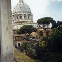 Рим. Вид из окна.