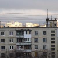 Салтовские девятиэтажки.
