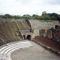 Помпеи. Средневековый театр.