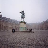 Версаль. Конная статуя Людовику IV