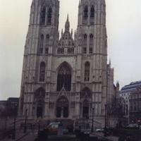 Брюссель. Храм Святого Михаила.