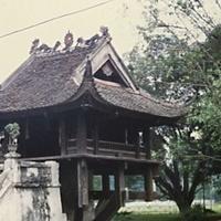 Пагода на одной колонне