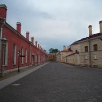 Петропавловская крепость  улицы