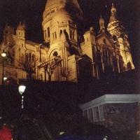 Париж.  Собор Сакре-Кер.