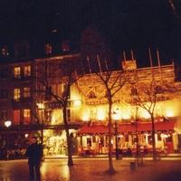 Париж. Площадь художников.