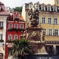 Прага. Памятник в честь окончания чумы.