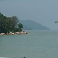 Джорджтаун. Вид на Андаманское море.