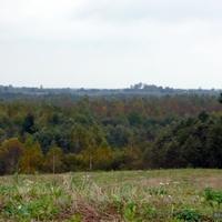 окрестности деревни вид на Усовцы