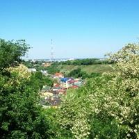 Киев, вид с Пейзажной аллеи на урочище Гончары