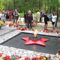 Заокский. Вечный Огонь. День Победы 9 мая 2012 г.