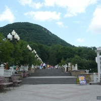 Лестница к горе Железная